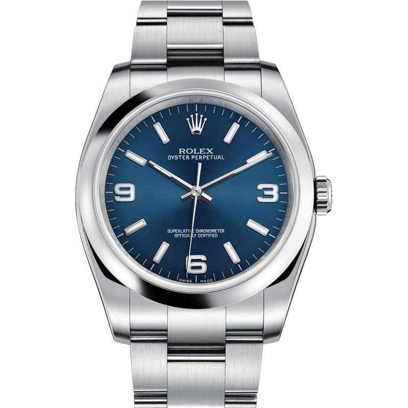Rolex Oyster Perpetual Datejust 116000 Blue Dial 36 mm. in