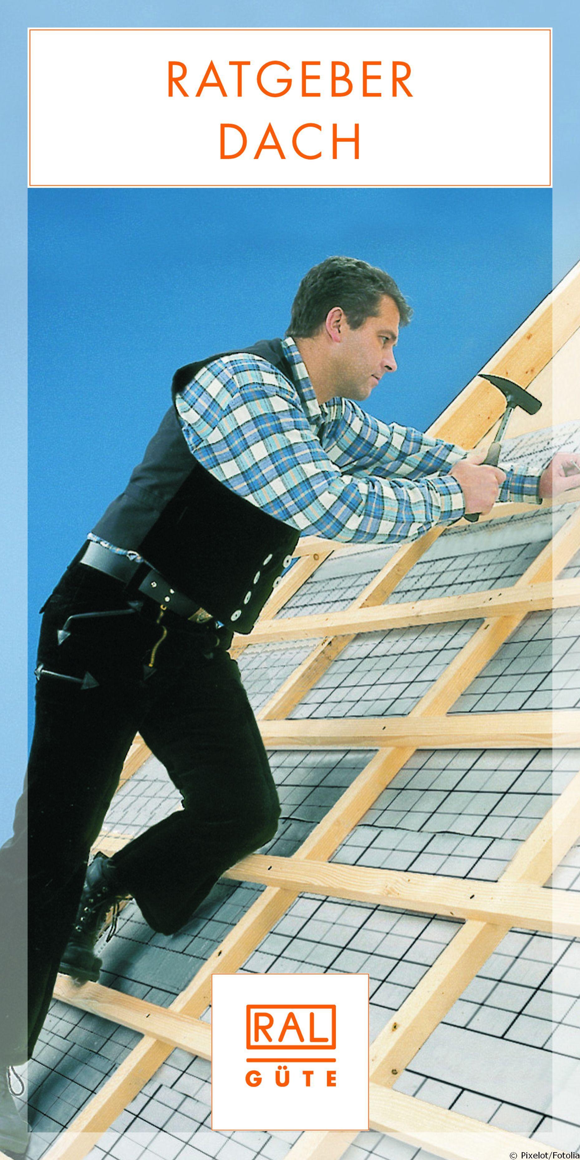 Der kostenlose RAL Ratgeber Dach informiert Hausbesitzer, Bauherren, Sanierer und Architekten über die Qualität von Produkten und Dienstleistungen mit RAL Gütezeichen rund um den Dachbau und Dachausbau.