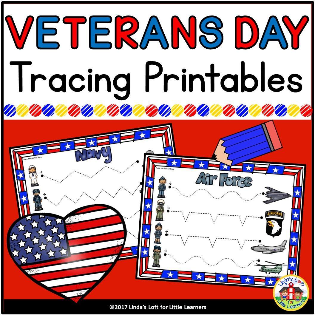 Veterans Day Pre Writing Printables Veterans Day Activities Preschool Fine Motor Skills Veterans Day [ 1056 x 1056 Pixel ]