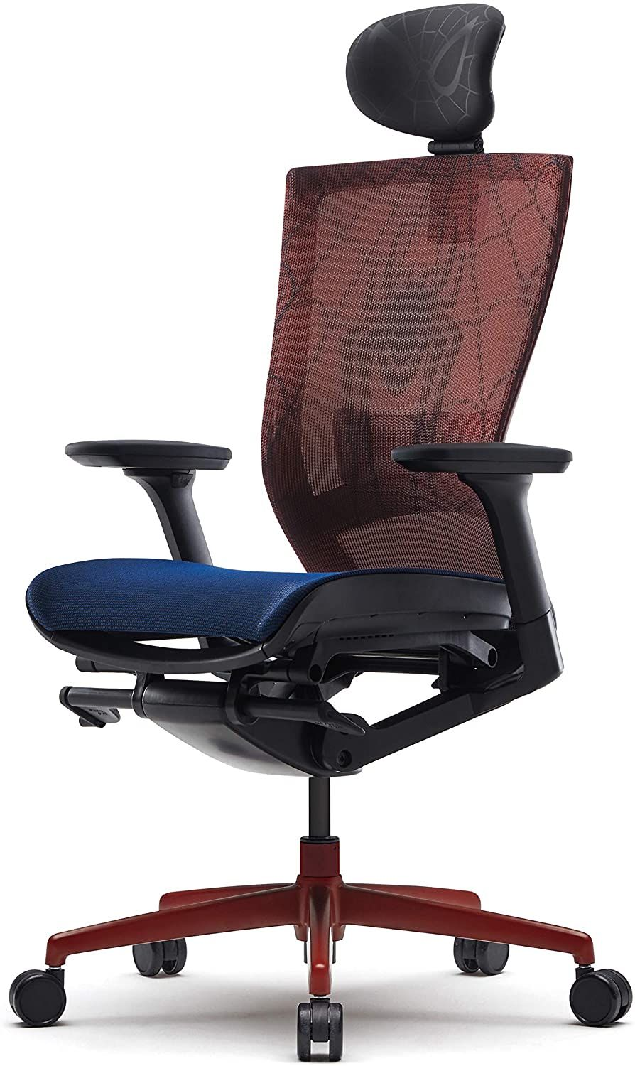Sidiz T50 Air Chair Marvel Spider Man Edition Mesh Seat And Back With Lumbar Support T520hldapcc1 In 2020 Best Office Chair Office Chair Chair
