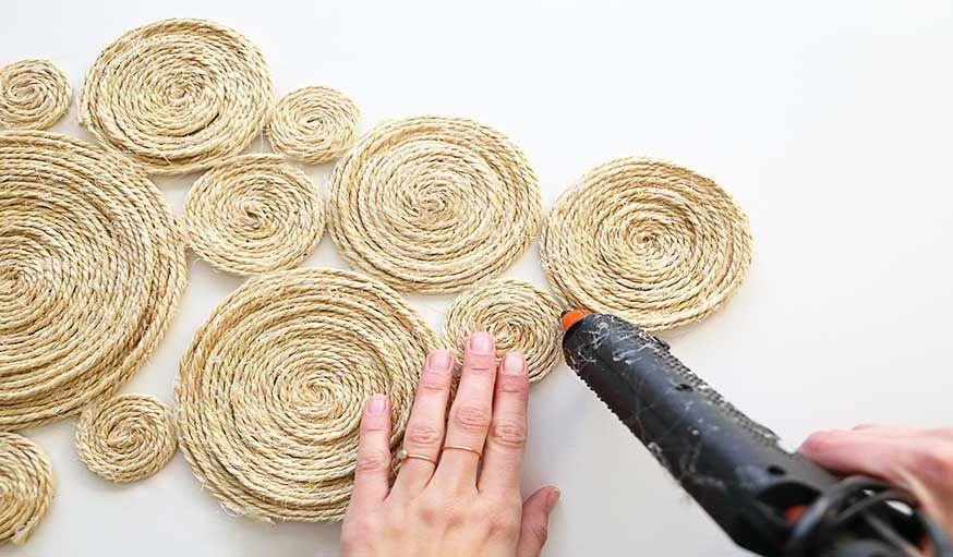 Tuto : Fabriquez un centre de table en corde pour une déco bohème