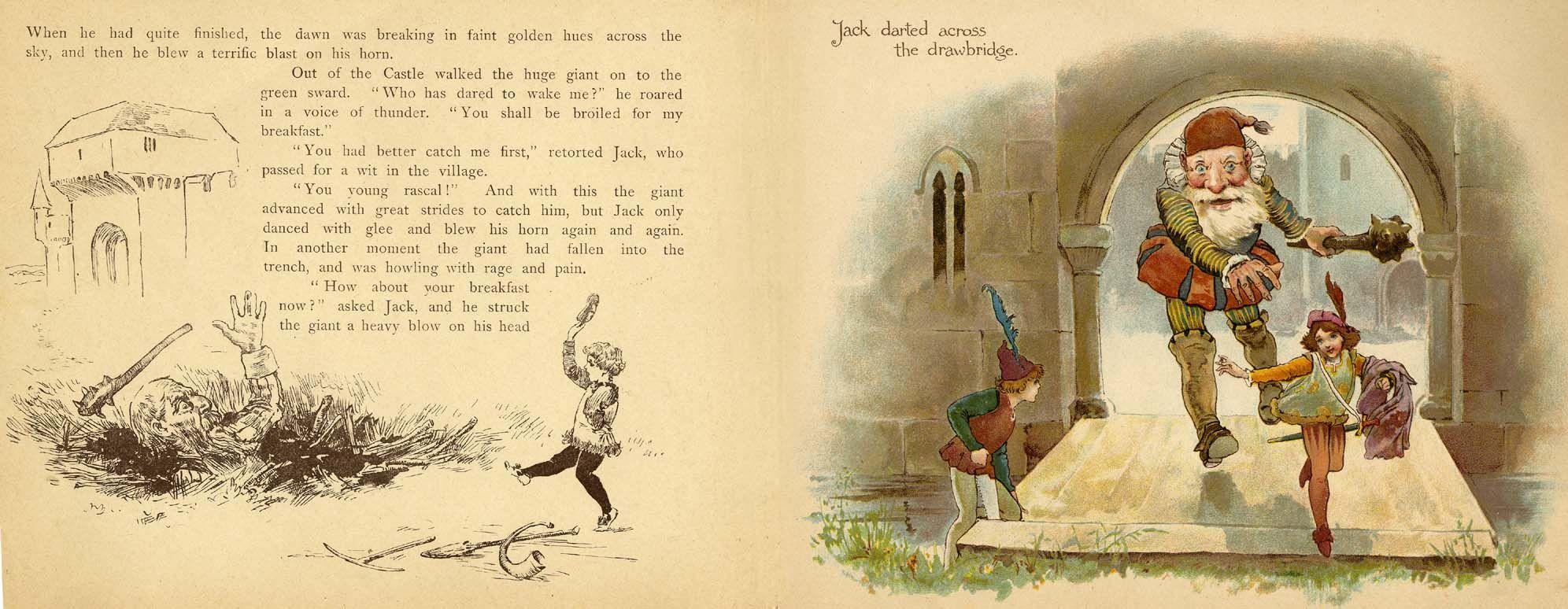 Jack the Giant Killer; 1880