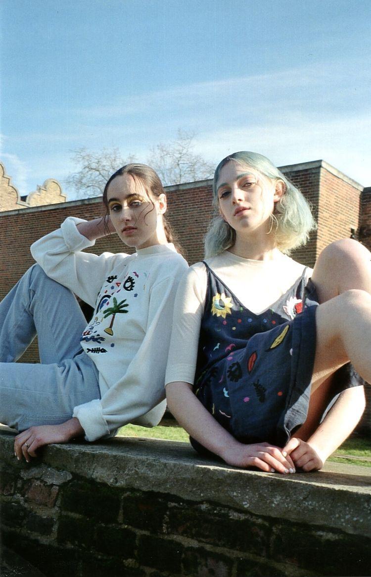 Photography NAOMI WONG StylingCAITLIN MORIARTY Make upLAUREN REYNOLDS HairMIHO EMORI Models LIZZIE AND MONA   dress & shoesTatanaka, socks Topshop   dress & shoe...