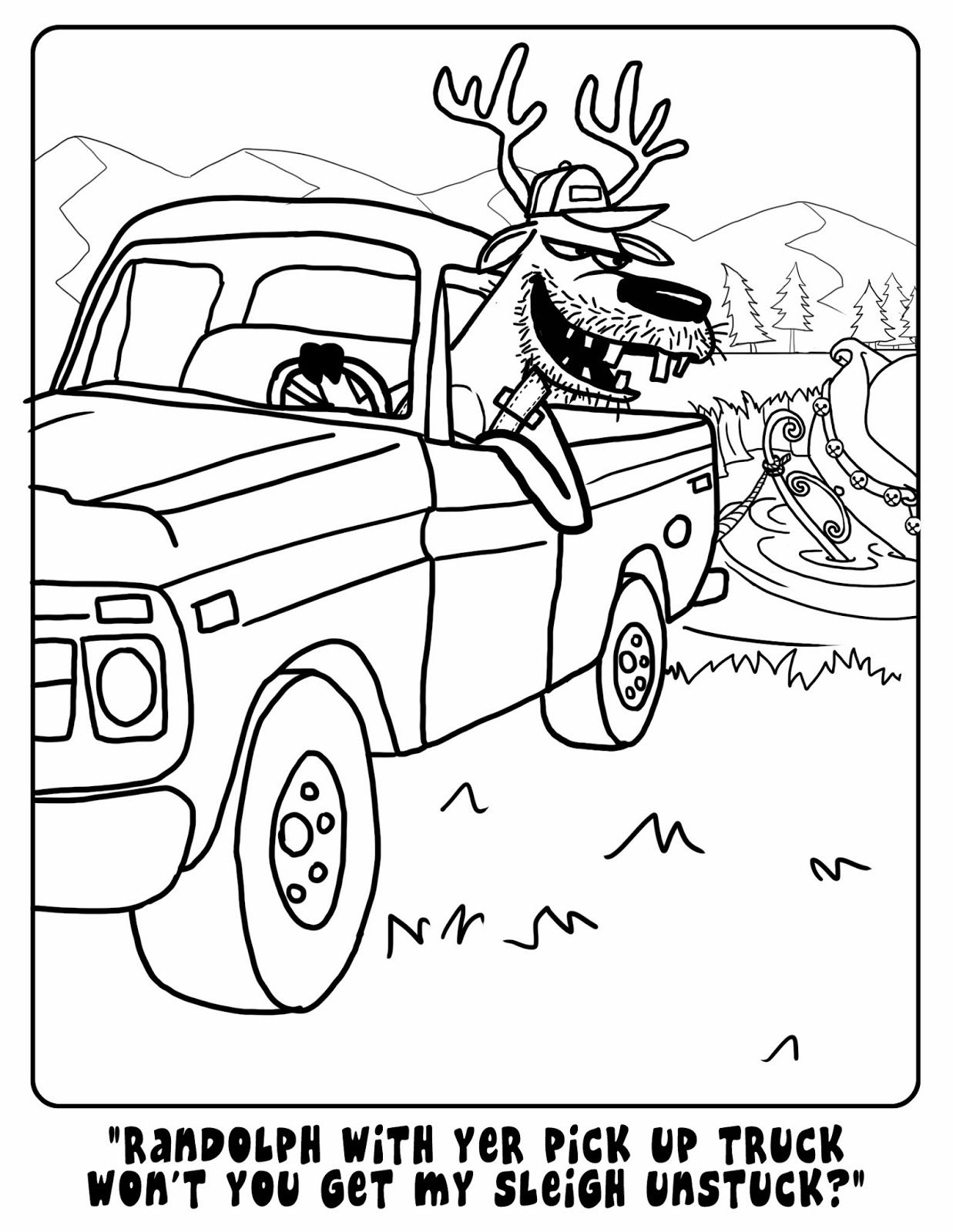 Bunkhousequilting Coloring Pages Free Coloring Pages To Print I Love You Redneck