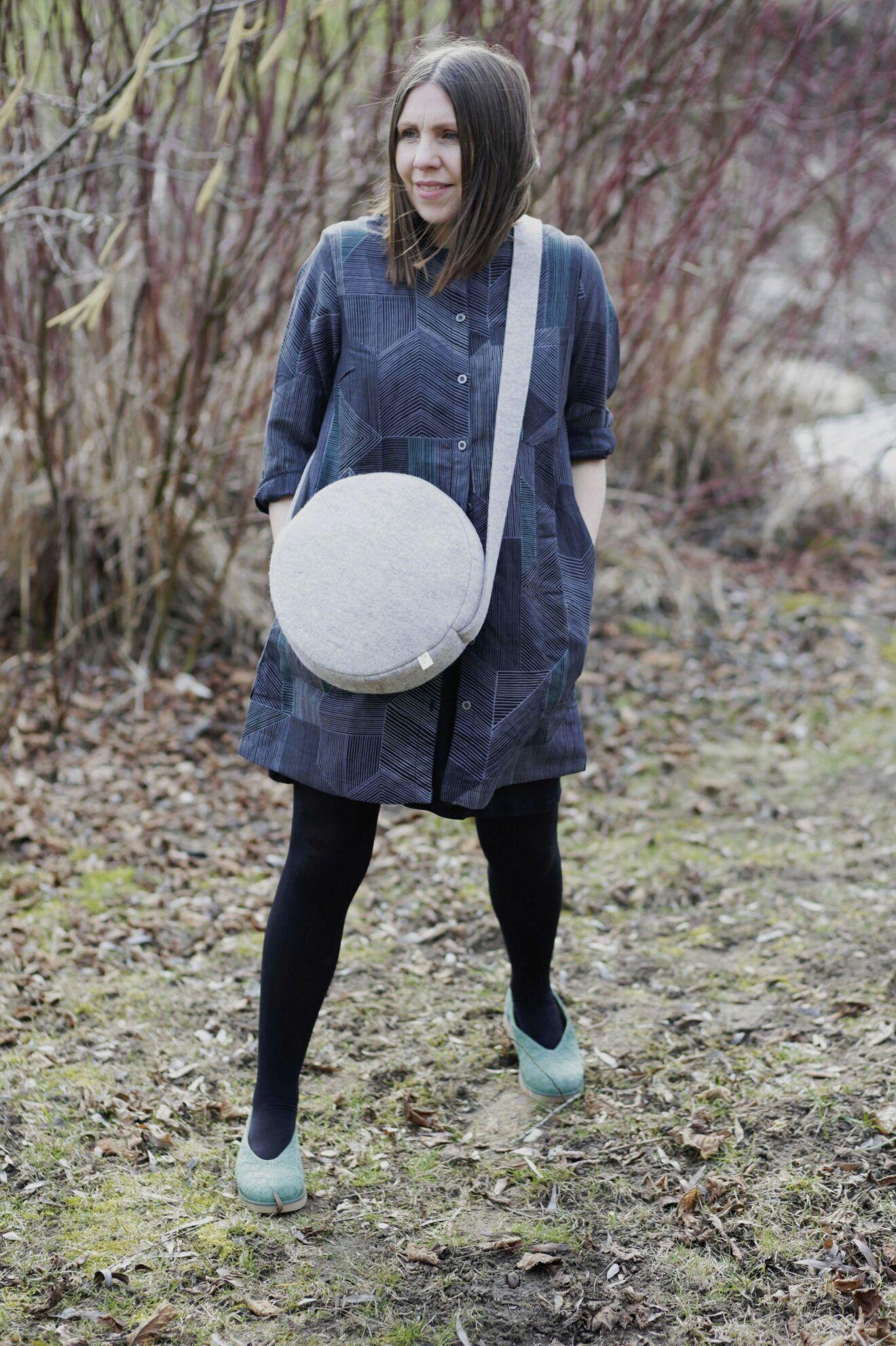 Cosa tú mismo una bolsa circular de moda, con instrucciones gratuitas »Blog de BERNINA