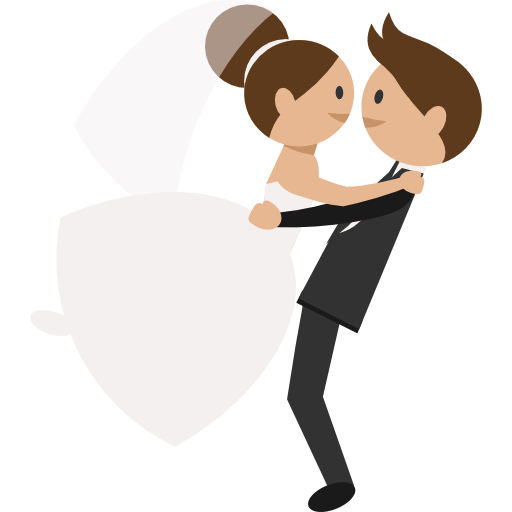 Wedding Couple Clipart Png: Wedding Couple Free Vector Icons Designed By Freepik