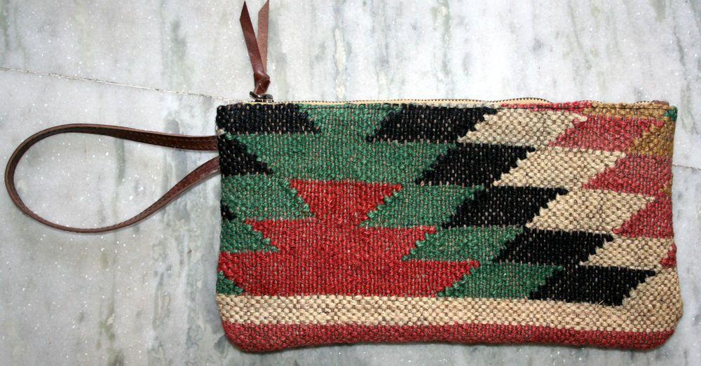 Small Kilim Handmade Jute Rug Bag Vintage Women's Handbag,Clutch, tote-bag,Purse #Unbranded #TotesShoppers