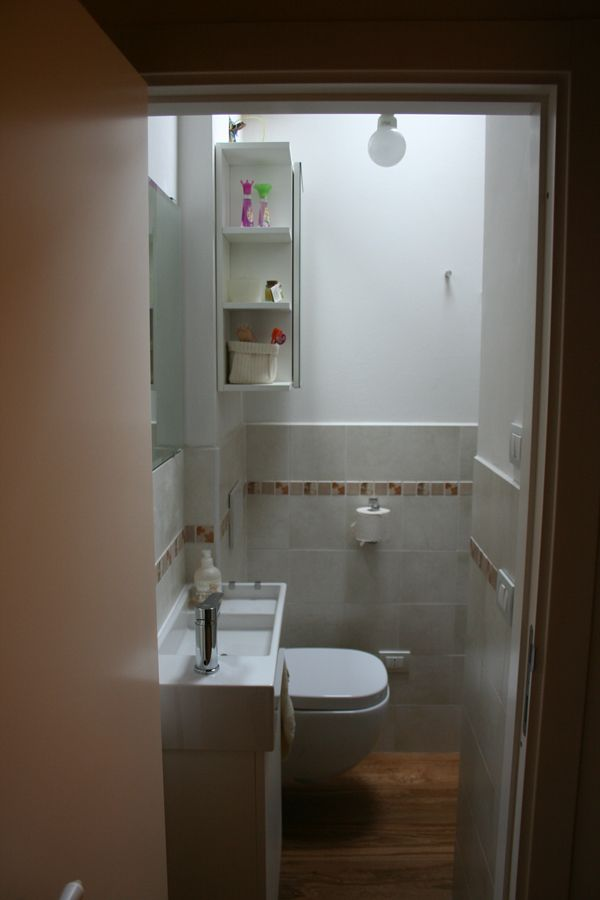 Un bagno piccolo piccolo | casa | Pinterest | Piccolo