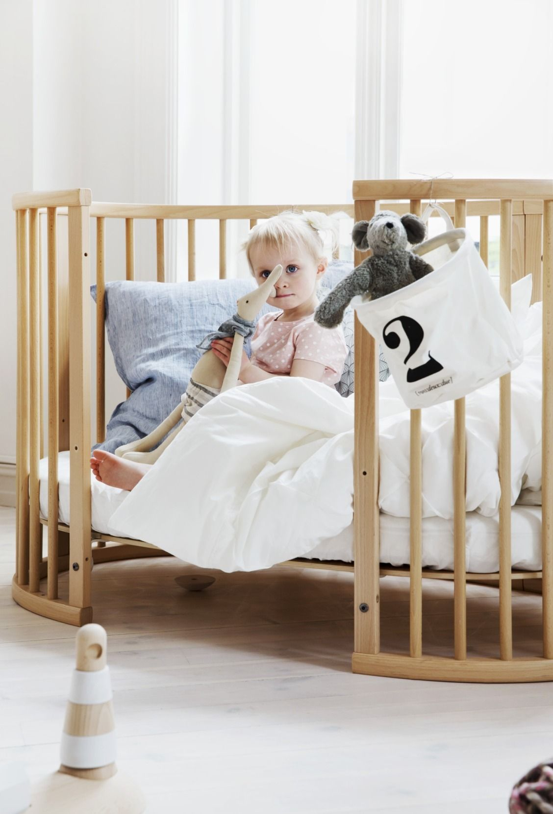 1 Less Thing For Your Baby To Grow Out Of Their Bed Did You Know That The Oval Stokke Sleepi Crib Can Turn Into A And With Child