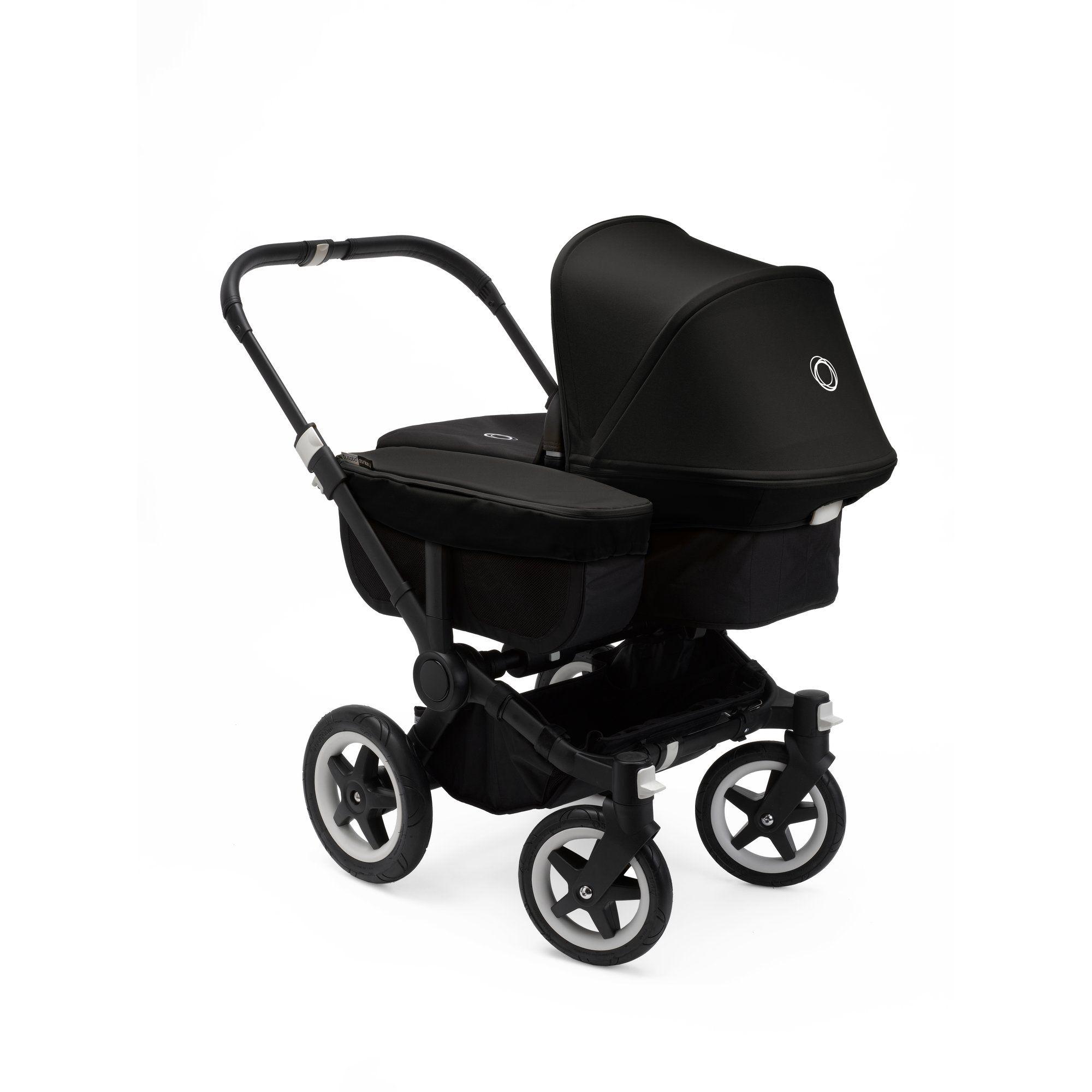 2018 Bugaboo Donkey2 Mono plete Stroller Black Frame
