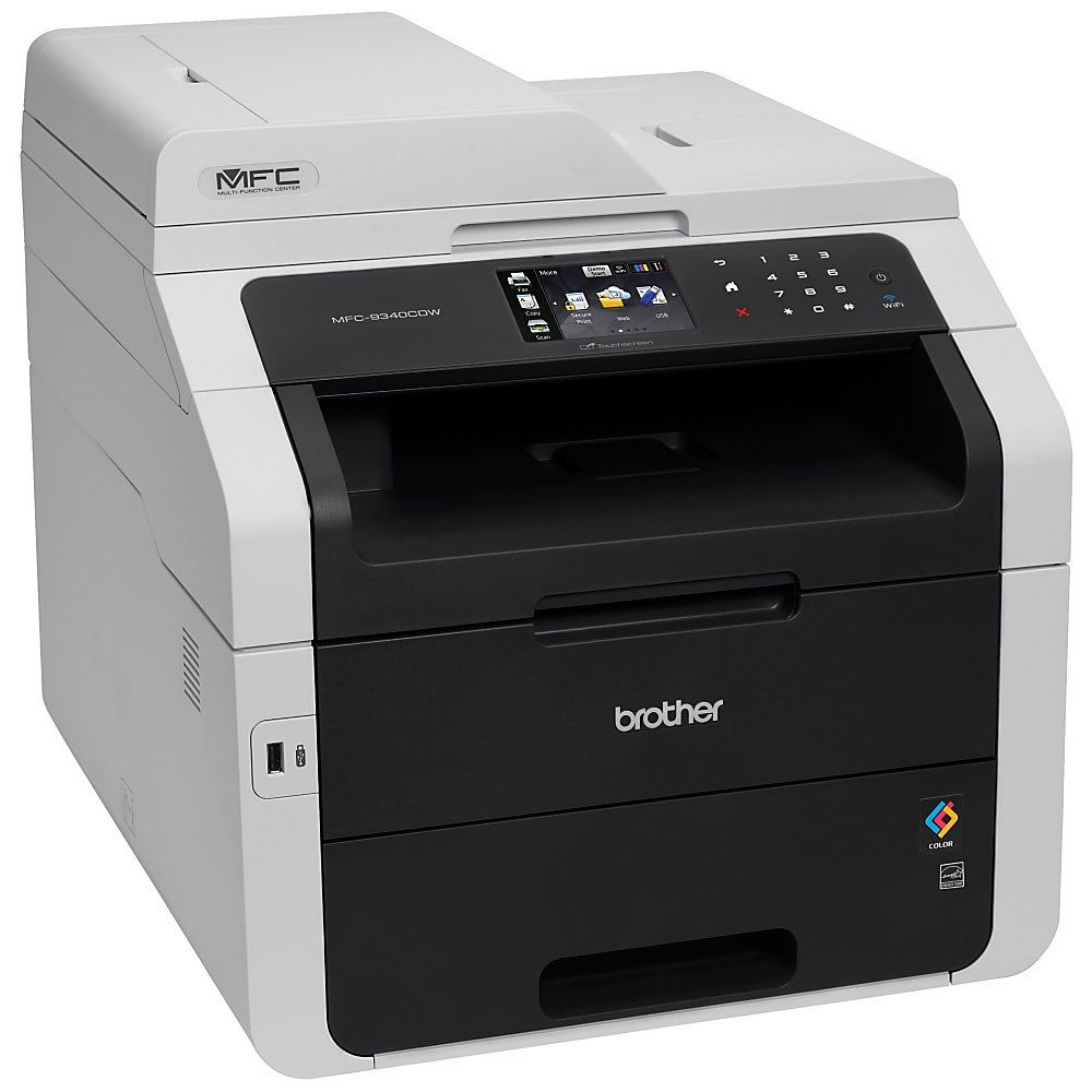 Brother Mfc 9340cdw Color Led All In One Printer Copier Scanner