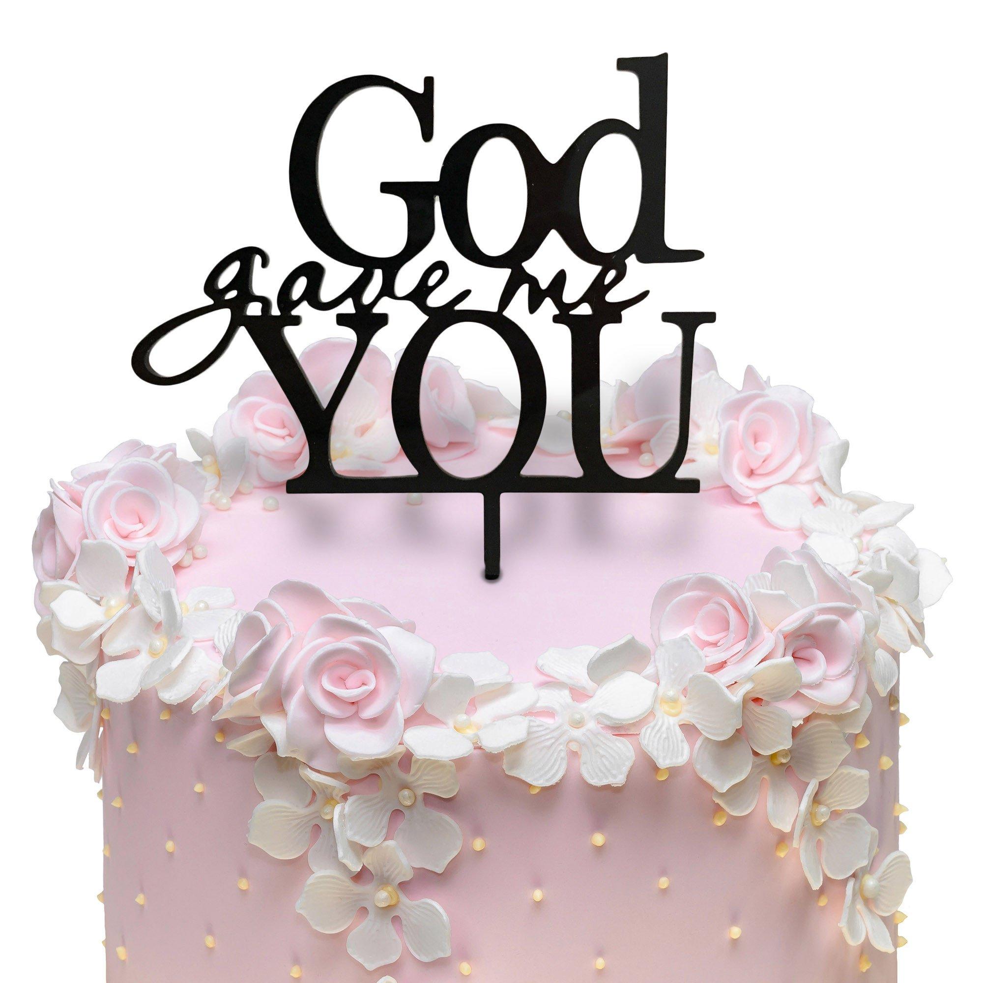 Christian Wedding Reception Ideas: JennyGems Religious Cake Topper