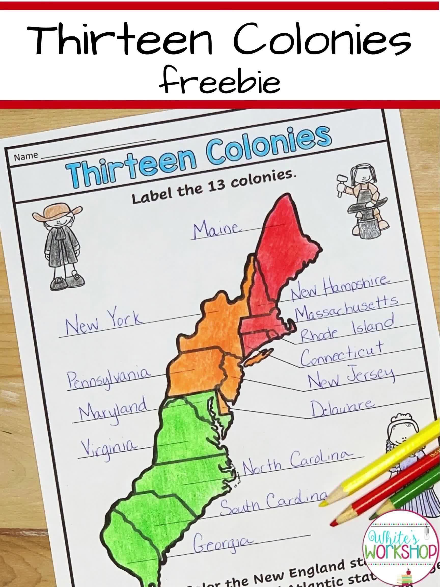 Thirteen Colonies Video Social Studies Elementary Social Studies Lesson Plans Social Studies Worksheets [ 2304 x 1728 Pixel ]