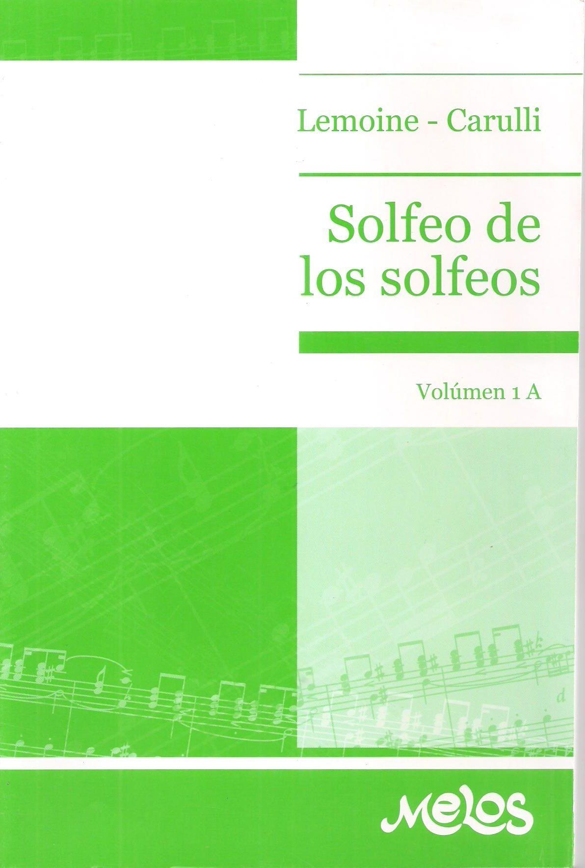 SOLFEO SOLFEOS 1A LEMOINE CARULLI PDF