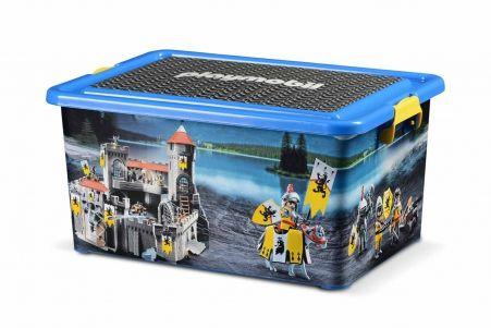 playmobil lot boite de rangement 23l boite compartiment e chevaliers joa louca pinterest. Black Bedroom Furniture Sets. Home Design Ideas