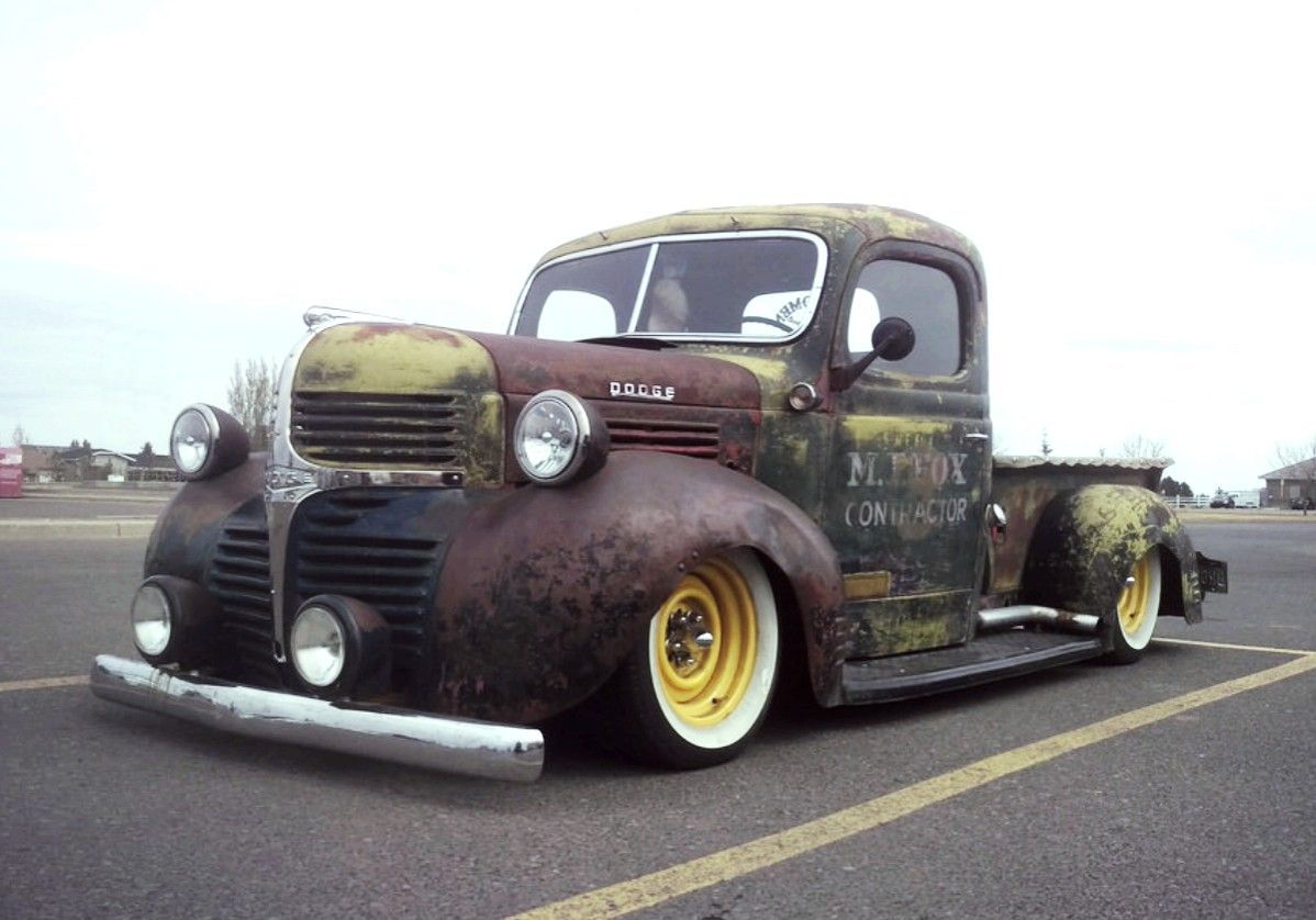 1942 Dodge Ratrod Truck Rat Rides Pinterest Trucks Tow Pickup Chrysler Farm Old
