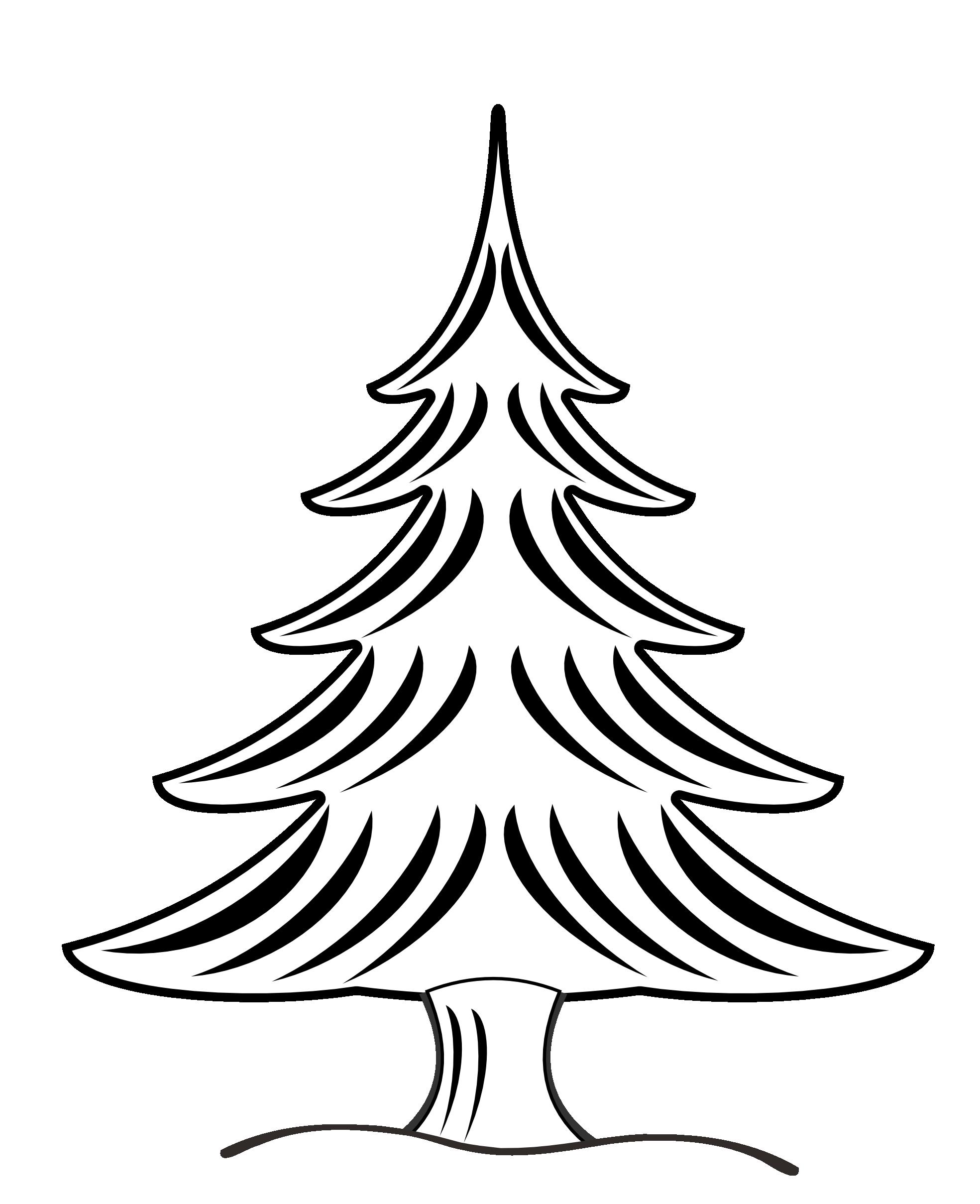 Image Result For Christmas Clip Art Black And White Malvorlage Tannenbaum Weihnachtsmalvorlagen Geburtstag Malvorlagen