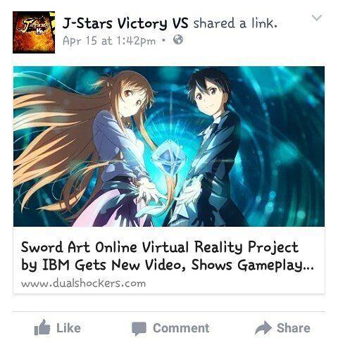 an awesome virtual reality pic sao swordartonline gameplay vr