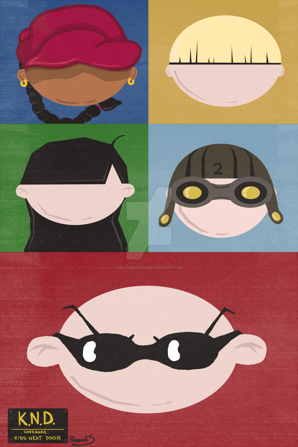 Knd minimalist poster by raquelsegal on deviantart cartoon