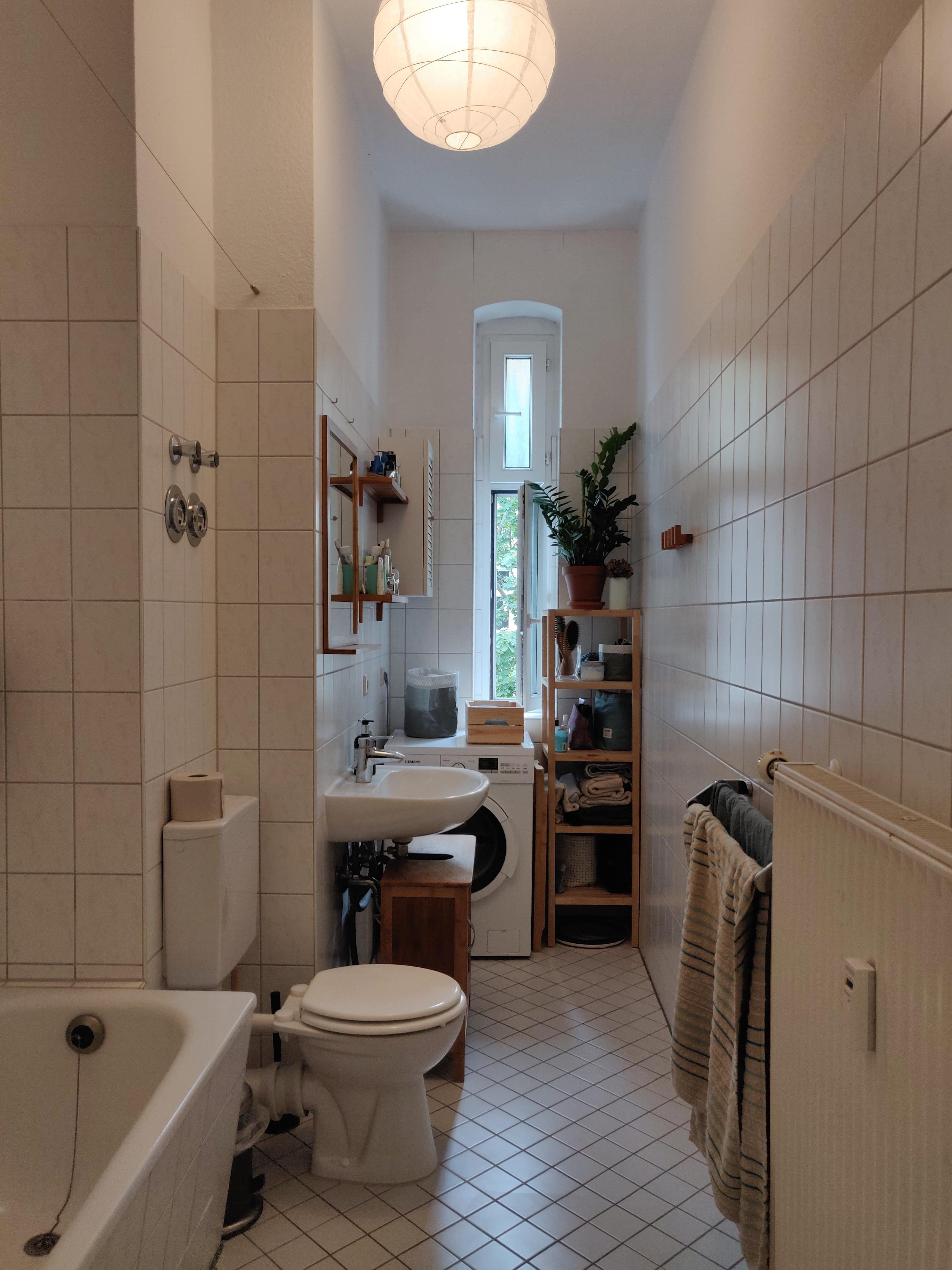 Langes Schones Tageslichtbadezimmer Schone Badezimmer Haus Badezimmer