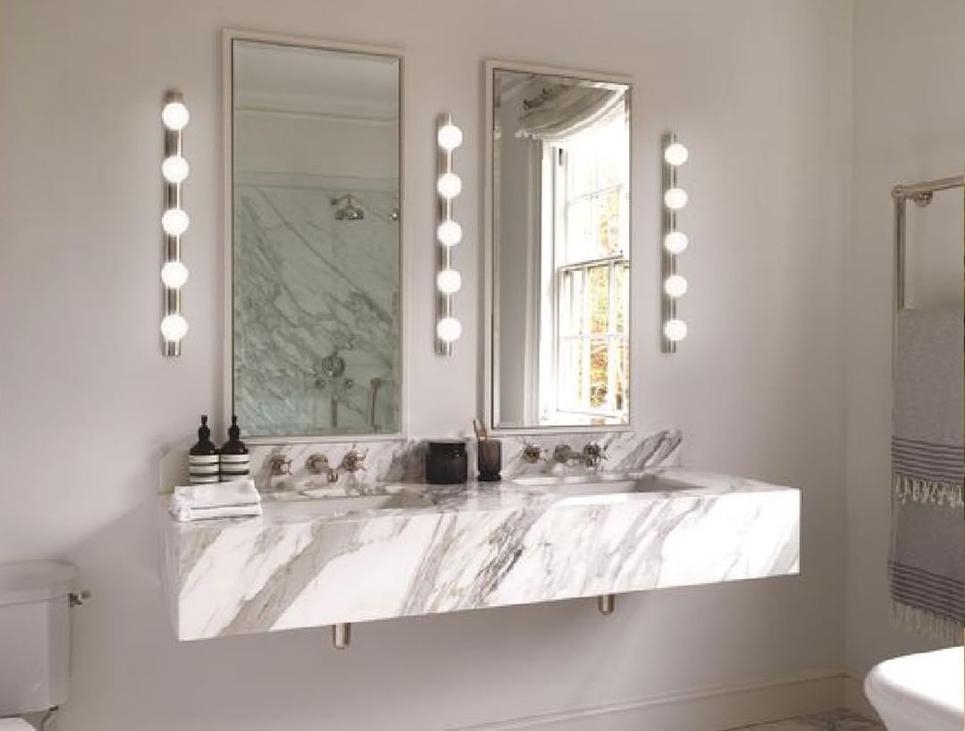Dreamy Bathroom Lighting Ideas. There's nothing dreamy or