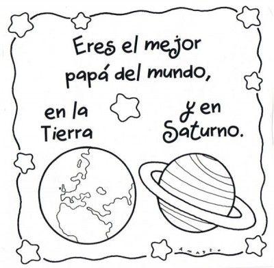 Frases Bonitas Para El Día Del Padre Para Niños De Inicial Fathers Day Art Fathers Day Crafts Fathers Day