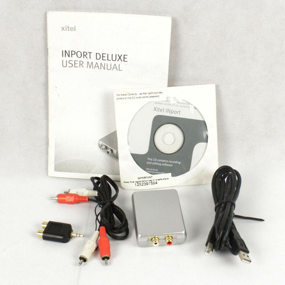 XITEL INPORT DELUXE WINDOWS 8 X64 DRIVER DOWNLOAD