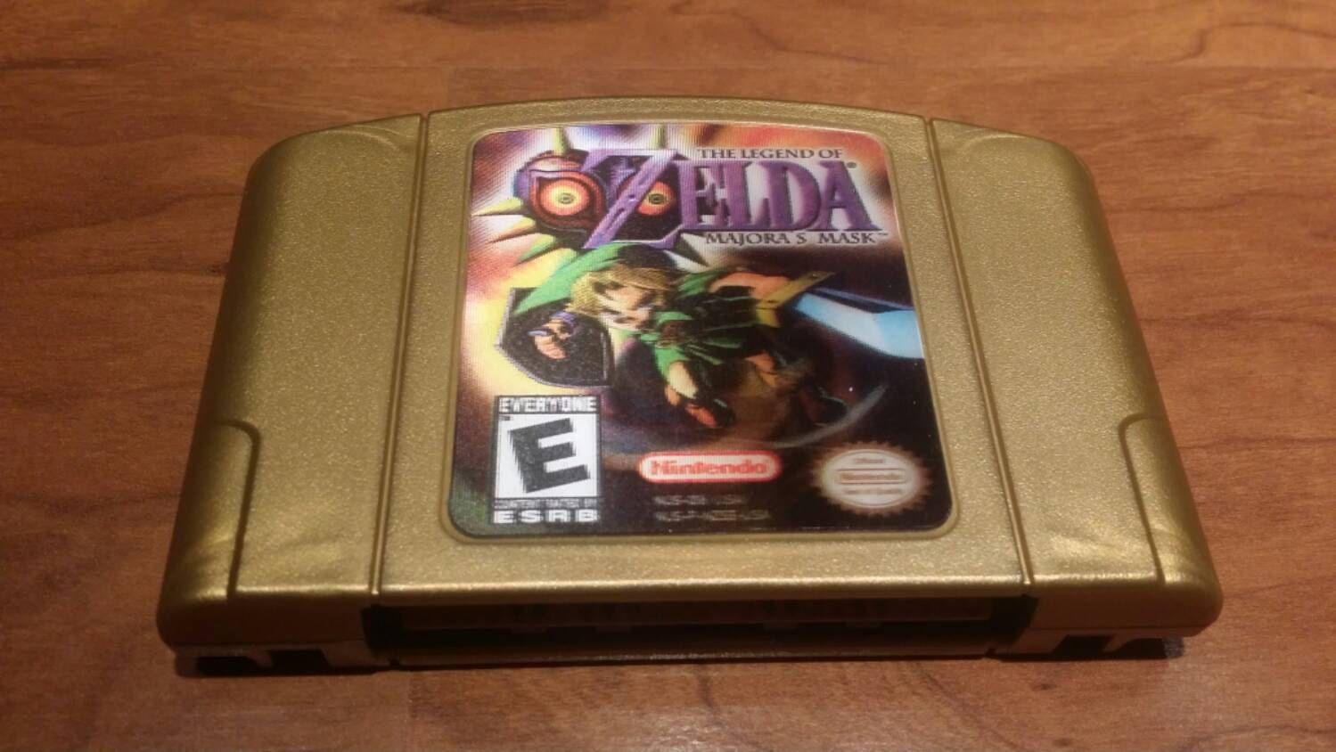 Legend Of Zelda Majoras Mask Nintendo 64 N64 Zelda Majoras Mask