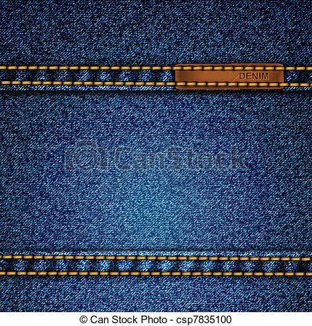 d1a80b7b9 Vector - realista, vector, tela vaquera, Plano de fondo - stock de ...