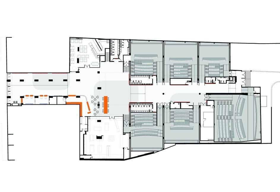 Espaco Itau De Cinema Metro Arquitetos Cinema Design Mix Use Building Architecture Project