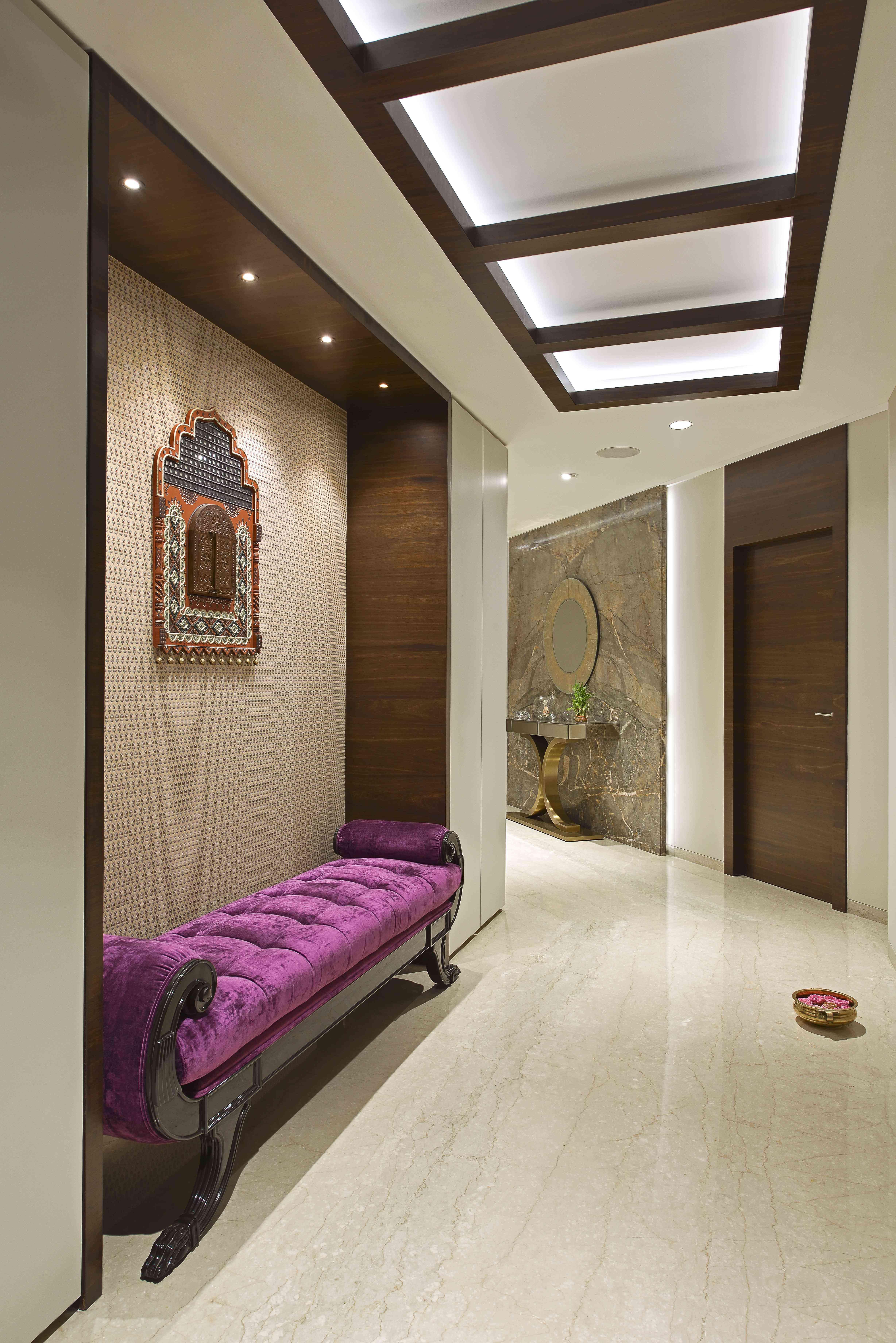 Sitting Corner Design Milind Pai In 2019 Foyer Design