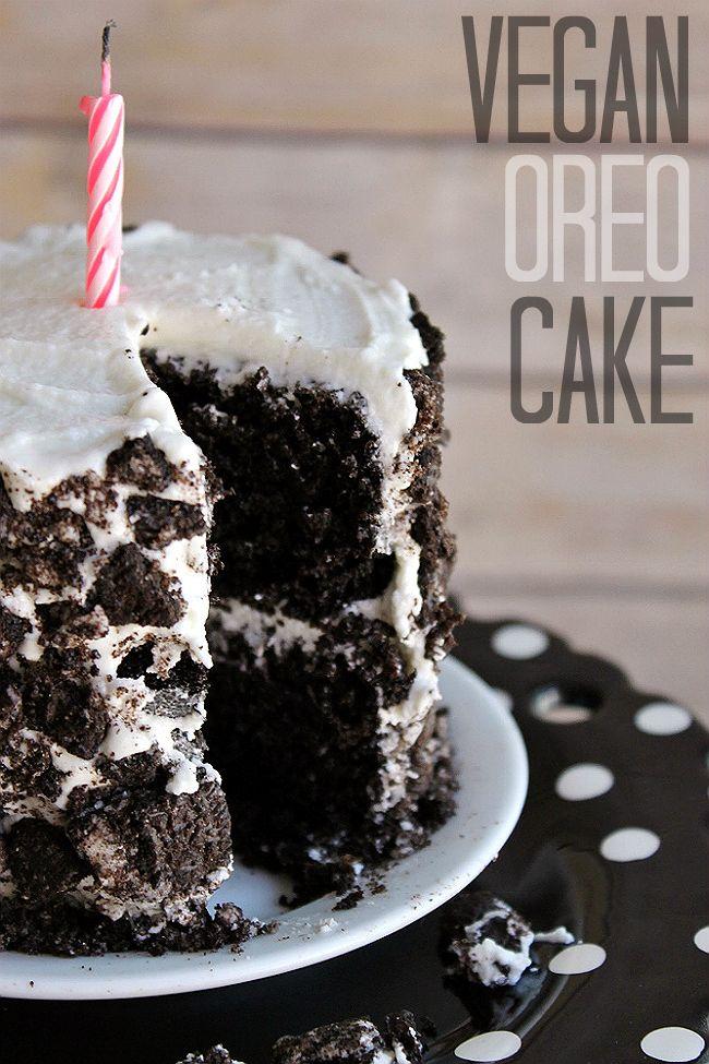 Vegan OREO Cake Recipe Experience the classic cookie in cake form