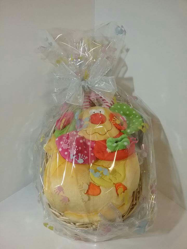 Baby baskets with accessories for a new born baby shower