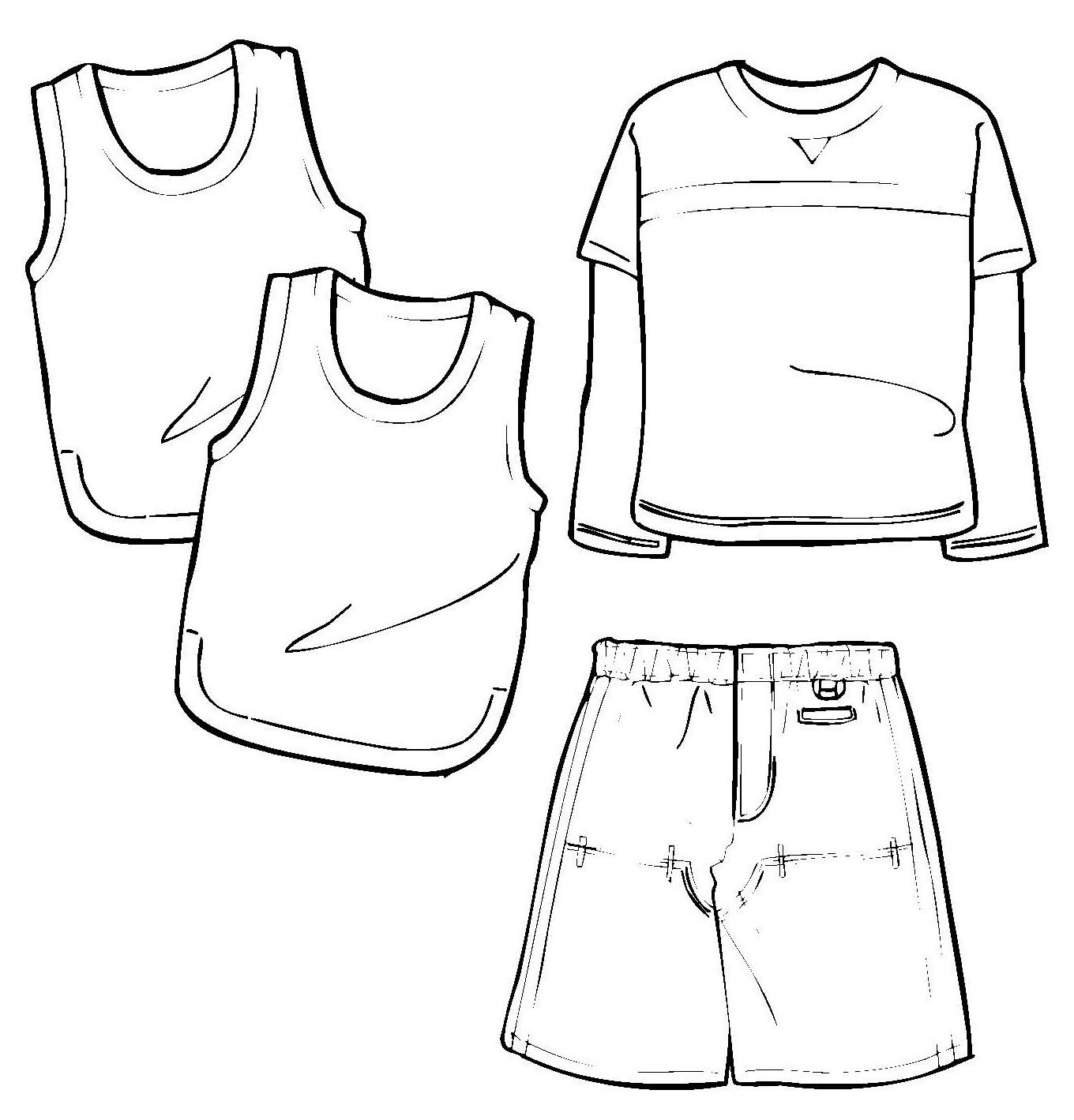 Illustrator_fashion_template   illustrator fashion templates free ...