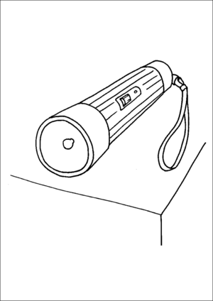Flashlight Printable Coloring Page Free To Download And Print Coloring Pages Easter Coloring Pages Printable Coloring Pages