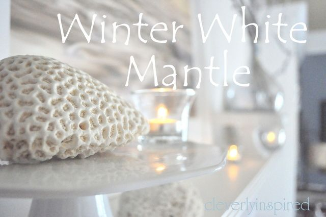 Winter white mantle