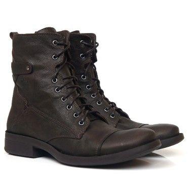 BOTA MASCULINA BLACK BOOTS BM 102 MARROM ESCURO  Black Boots  Botas de Couro Masculina is part of Black leather boots - Botas de Couro Masculina de Qualidade, Conforto e Estilo  Produto Brasileiro  Feito Á Mão