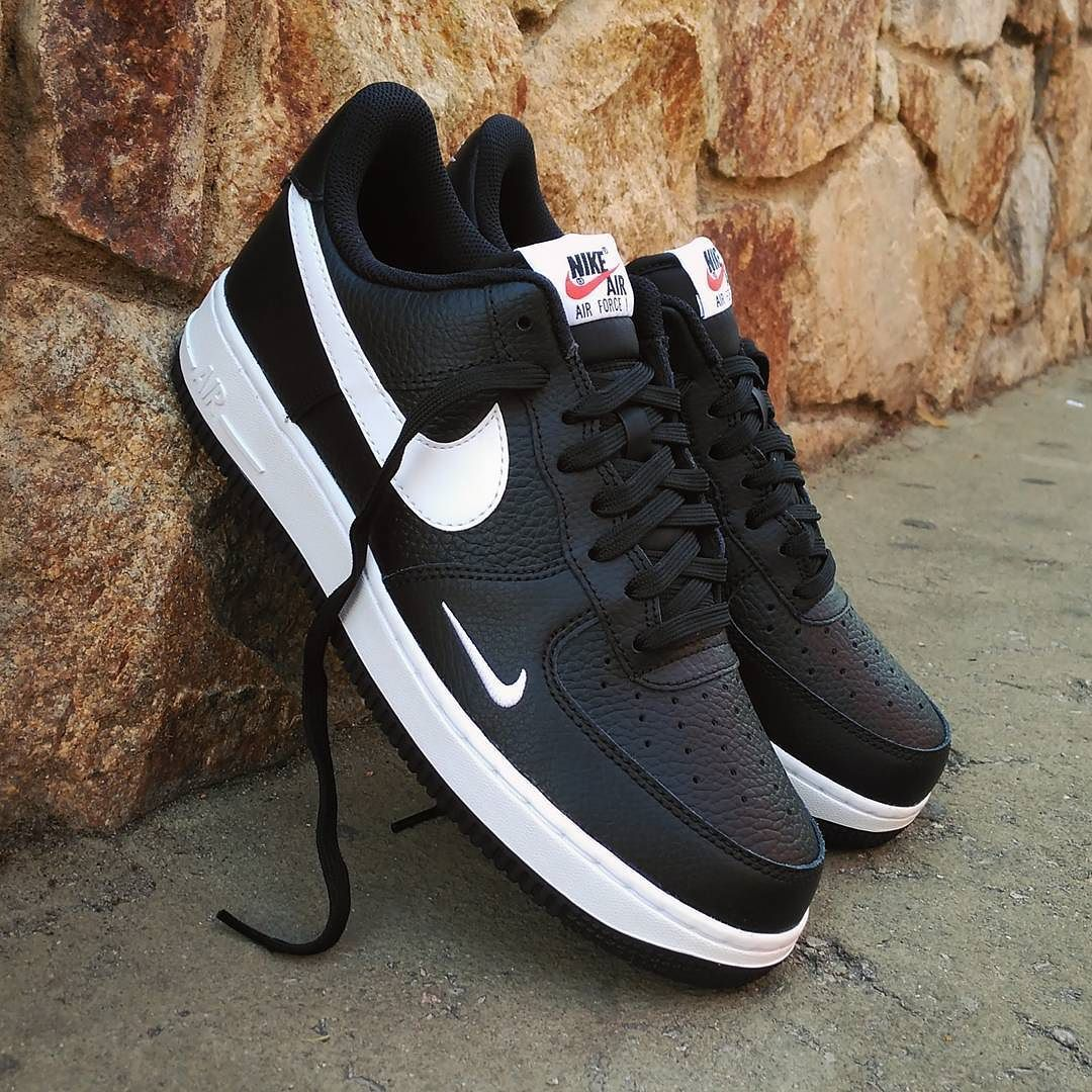 detailed pictures 8ca91 ccc75 Nike Air Force Black, Nike Air Force Ones, Air Force Shoes, Air Force