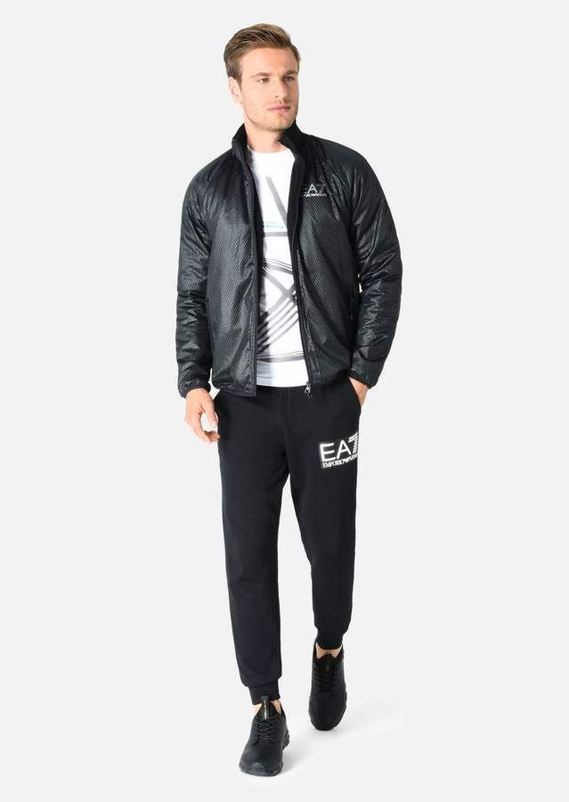 784b4a7167 Emporio Armani Ea7 Padded Jacket In Technical Fabric | Products in ...