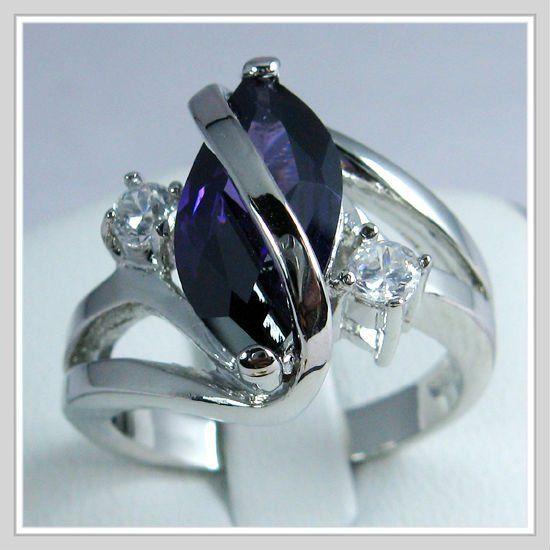 18k White Gold Wedding Band Gp Alexandrite Zircon Ring Alexandrite Jewelry Gemstone Wedding Bands White Gold Wedding Bands