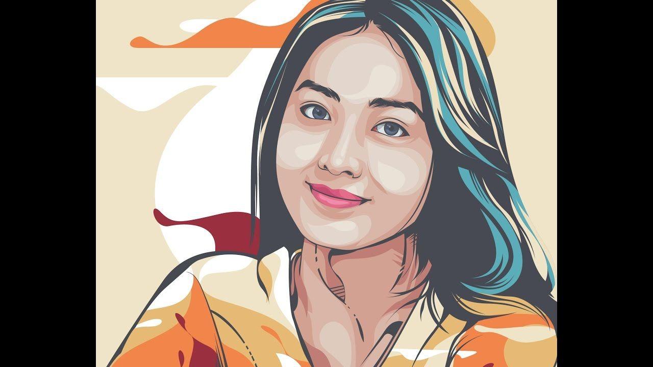 Belajar Vector Tutorial Line Art Adobe Illustrator Cs6 Illustration Vector Art Illustrator Cs6