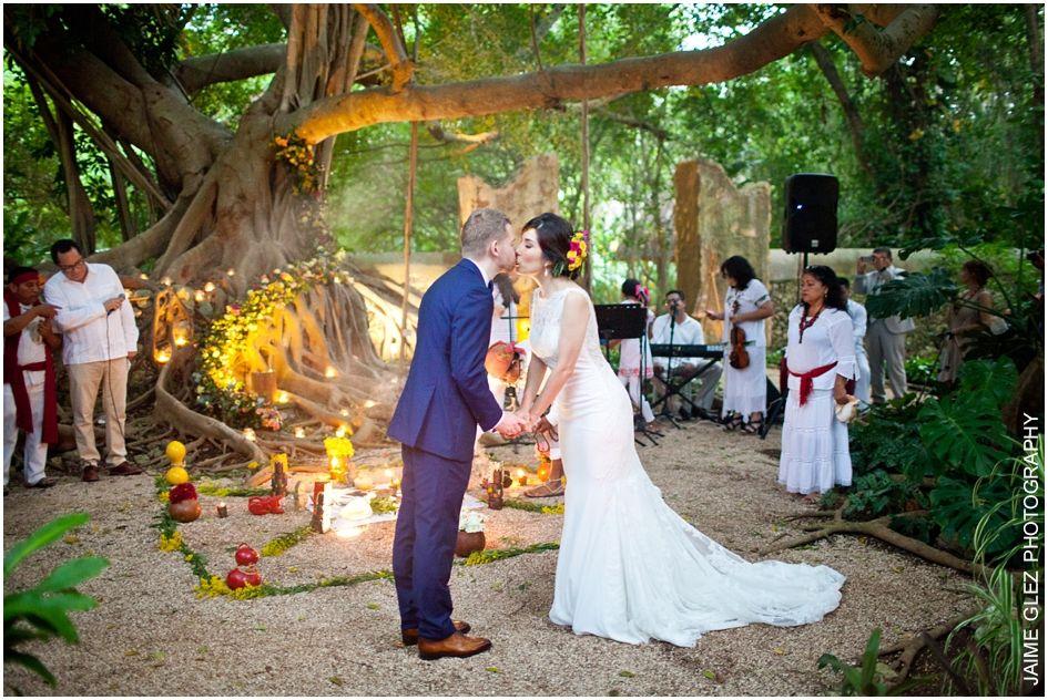 boda maya en merida yucatan, hacienda san jose cholul: mayte