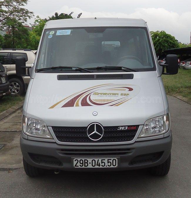 Minh Hang : Cho thuê xe 16 chỗ Mercedes Sprinter giá rẻ nhất t...