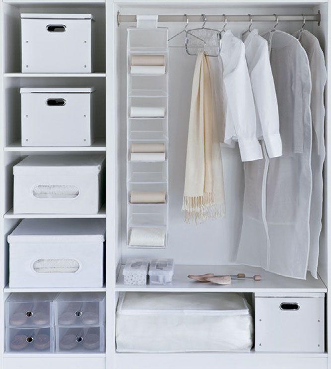Descubre todos los trucos para mejorar el aspecto de tu - Para guardar zapatos dentro armario ...