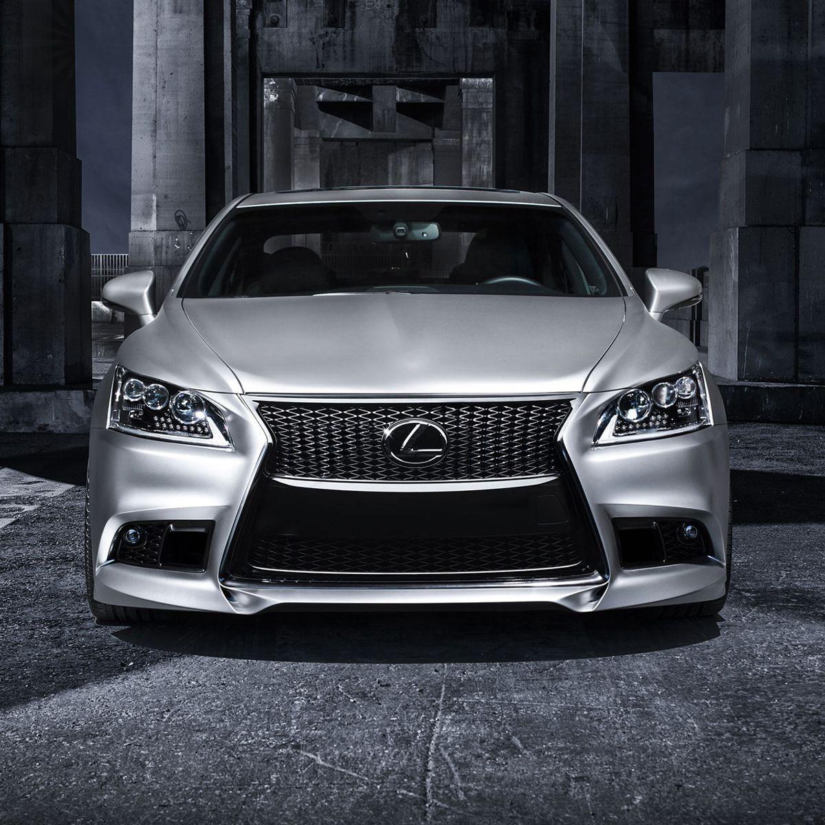 Lexus ls460 f sport 5 axis