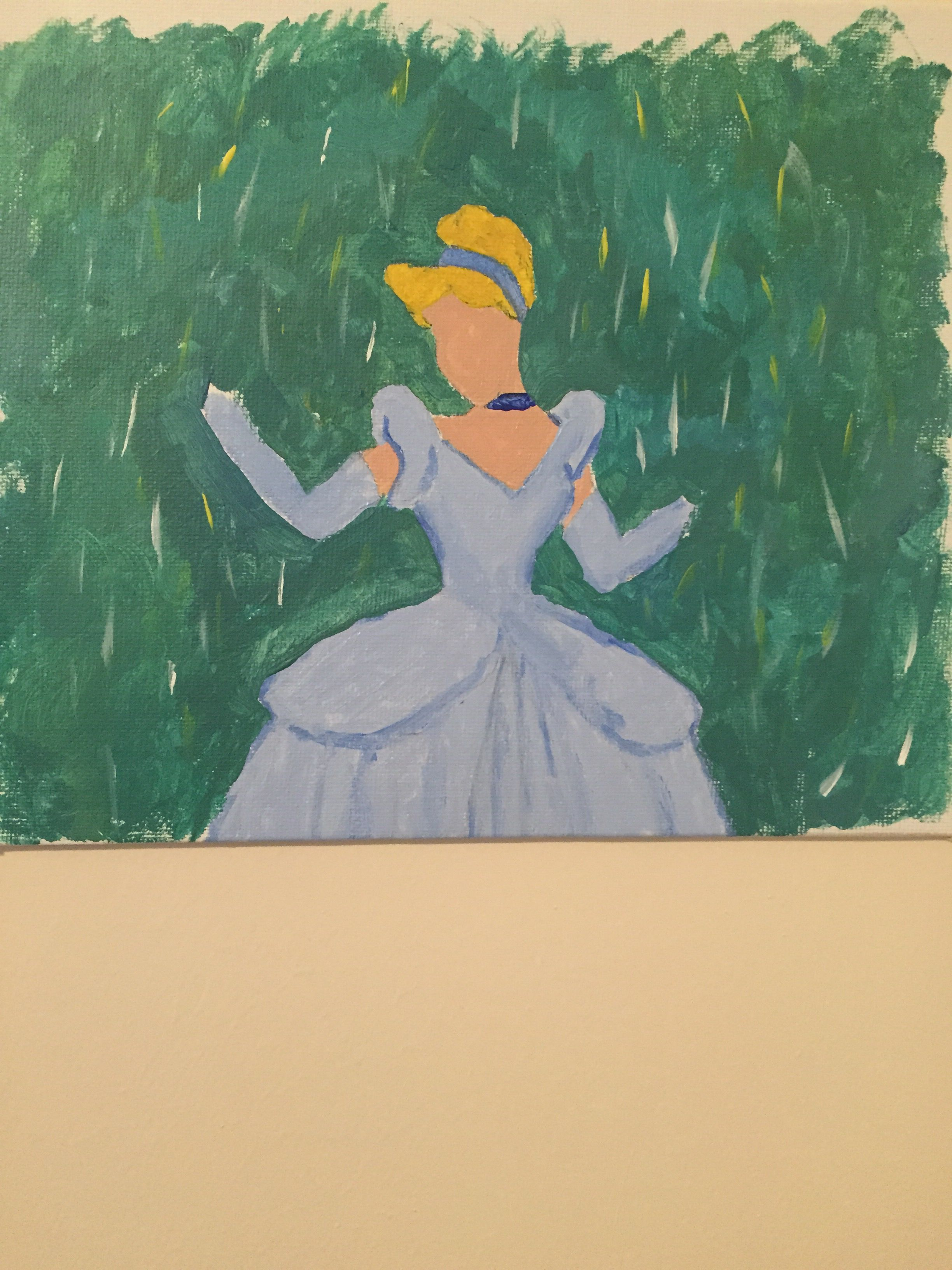 Cinderella painting