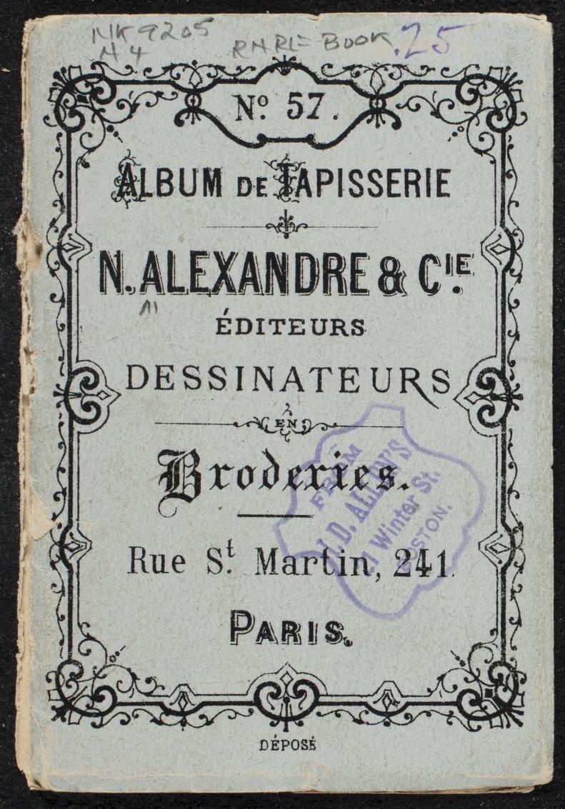 Album de tapisserie