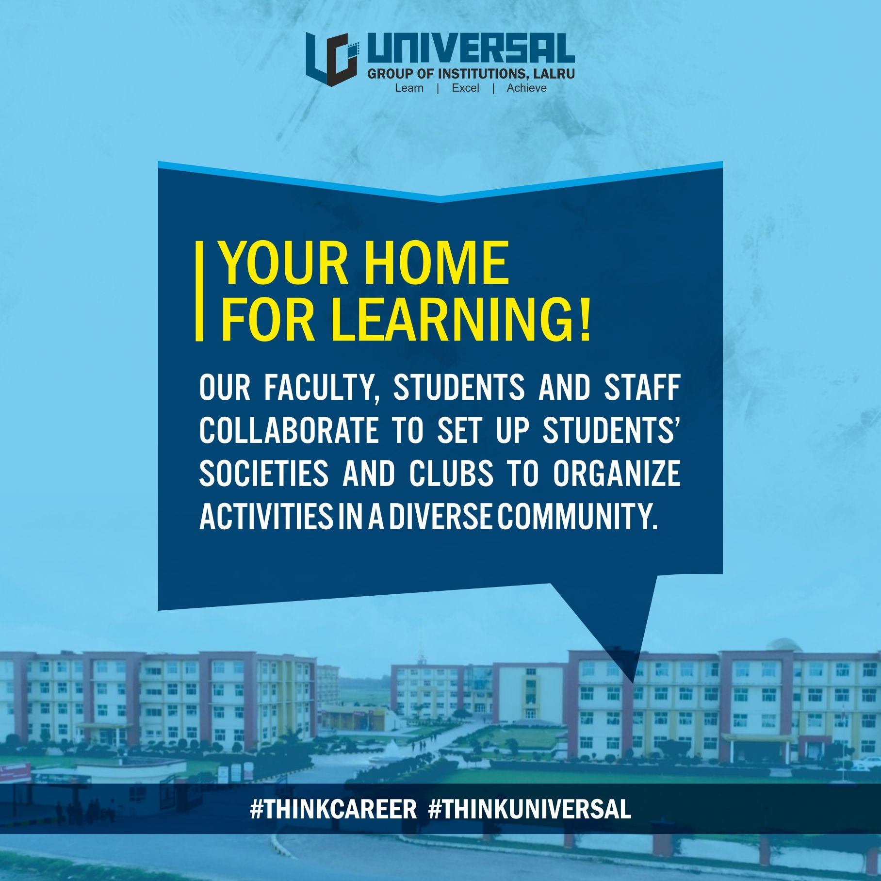 Welcome To Home Of Learning Universal Group Of