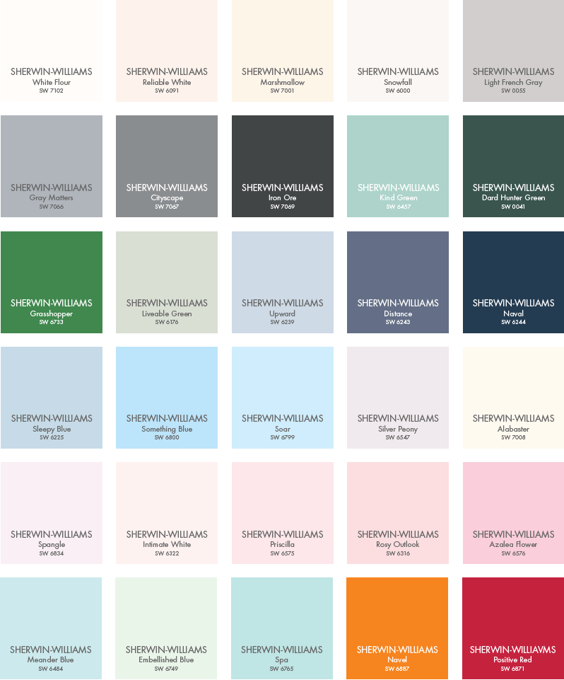 Sw Pottery Barn Kids Color Palette In 2019 Pottery Barn