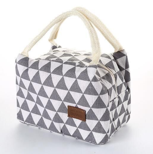 Insulated Lunch Bag Oxford Portable Picnic Camping Tote Bag For Women Men Kids